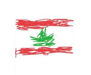 libanonin-lippu